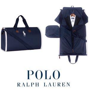 Polo Duffle Garment Travel Gym Tote Ralph Lauren